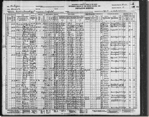 1930 US Census -Frank Goodman