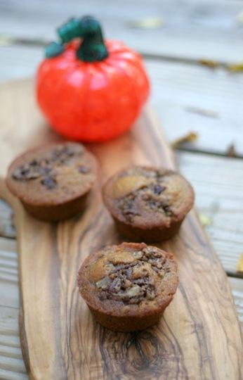 pumpkin streusel muffins 1