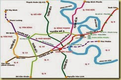 cac tuyen metro tai HCM