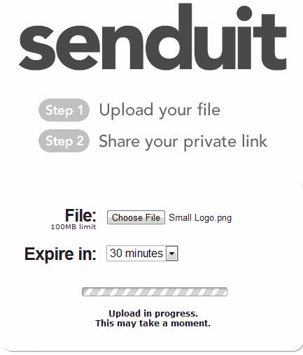 Securely Share Important Uploaded Links
