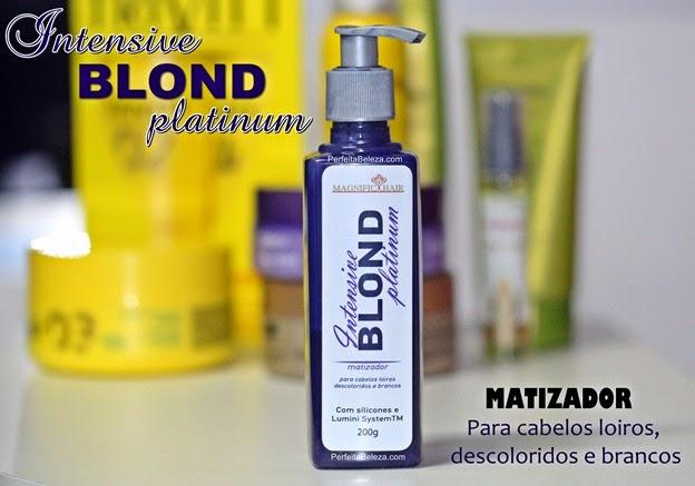 intensive blond paltinum magnific hair, matizador para cabelos loiros