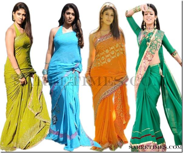 Nayanthara_Designer_Sarees