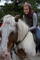 Dani and her horse