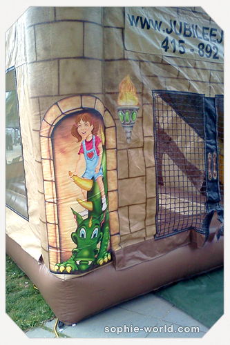 Bounce house castle