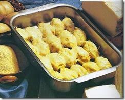 Gnocchi di polenta concia e patate