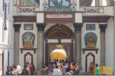Entrada templo Hindu
