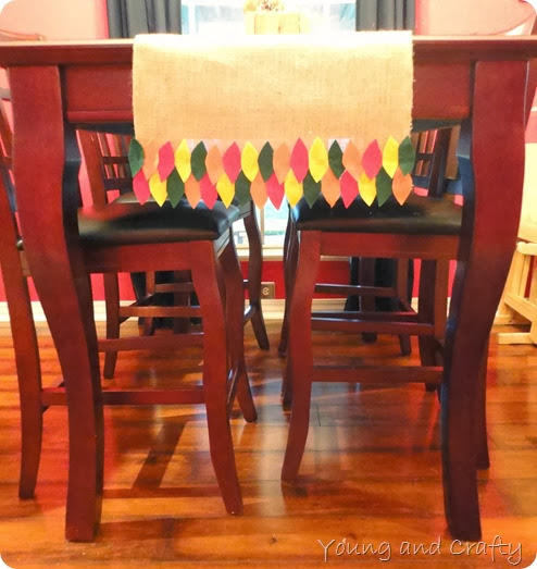 Fall table runner 6