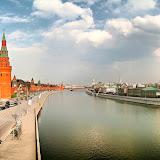 モスクワ川。カスピ海に流れ出る。