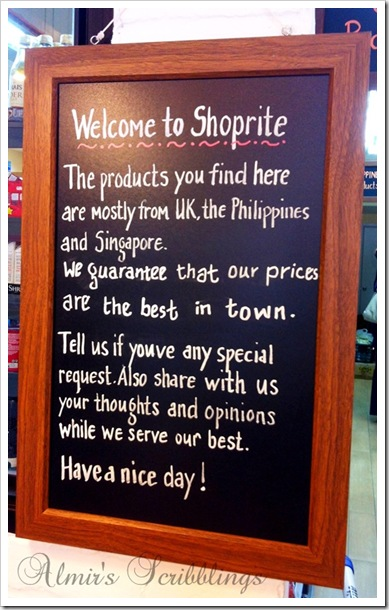 Shoprite signboard
