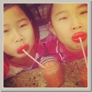 V-Day lips