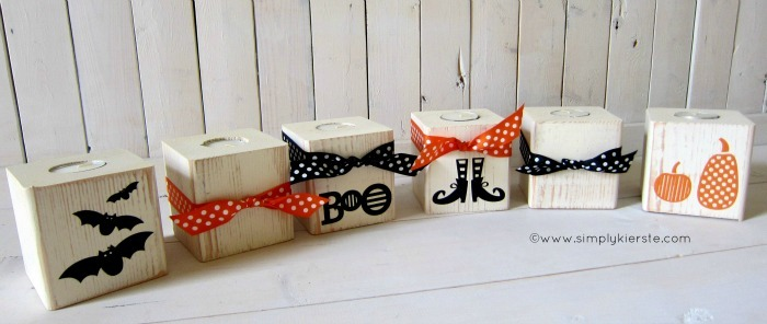 Wooden Halloween Luminaries by Simply Kierste