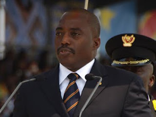 Le prsident de la RDCongo, Joseph Kabila, lors de la clbration de 50 ans de l&#039;indpendance  Kinshasa le 30 juin 2010.