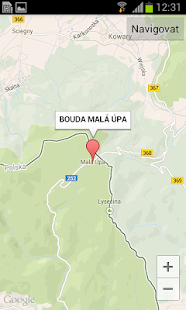Bouda Malá Úpa - screenshot