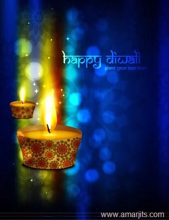 Happy-Diwali-Candle-Vector