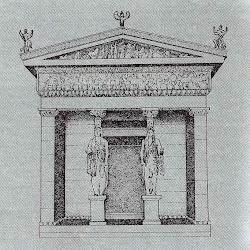 23bis - Reconstrucción del Tesoro de los Sifnios en Delfos