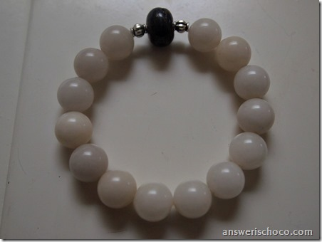 Stretchy Agate Bracelet