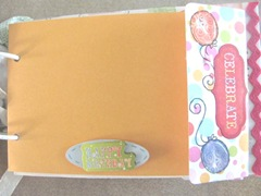 Cape Kellys birthday book celebrations envelope page