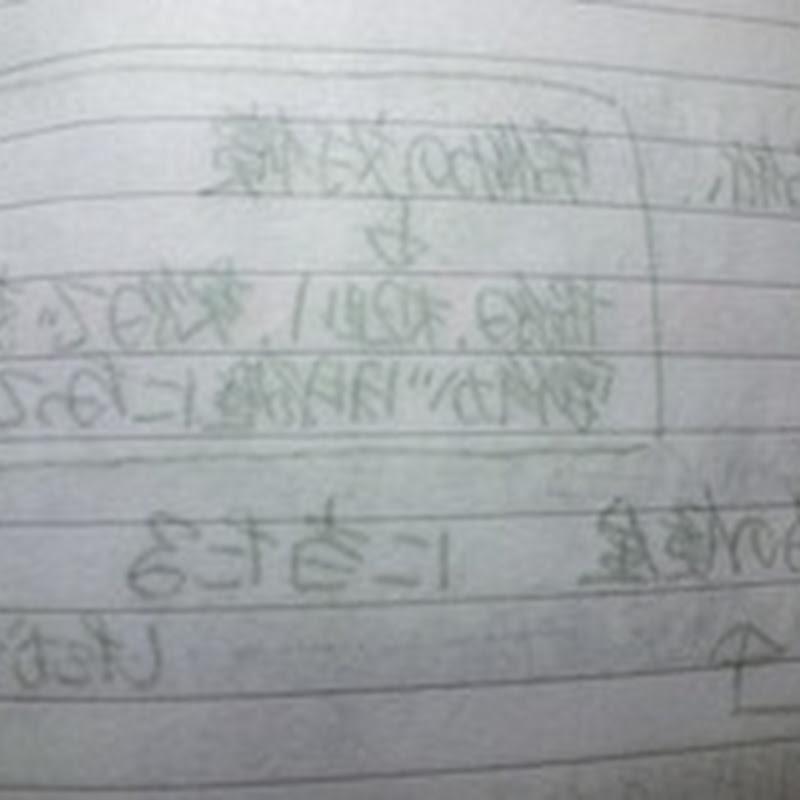 ボールペンで筆記したノートの保存性について