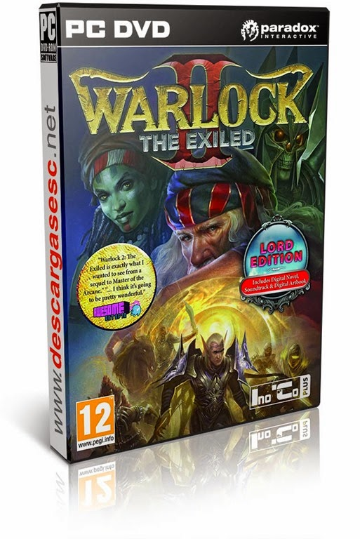 Warlock 2 the Exiled-RELOADED-pc-cover-box-art-www.descargasesc.net