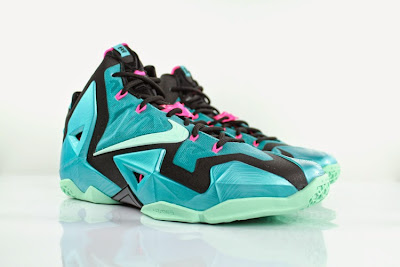 nike lebron 11 gr south beach 5 04 Release Reminder: Nike LeBron 11 South Beach
