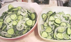 B.B pickles w Kosher salt