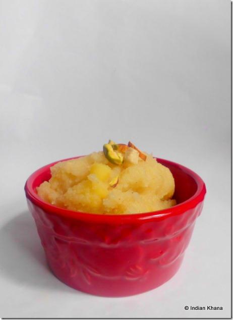 apple kesari recipe