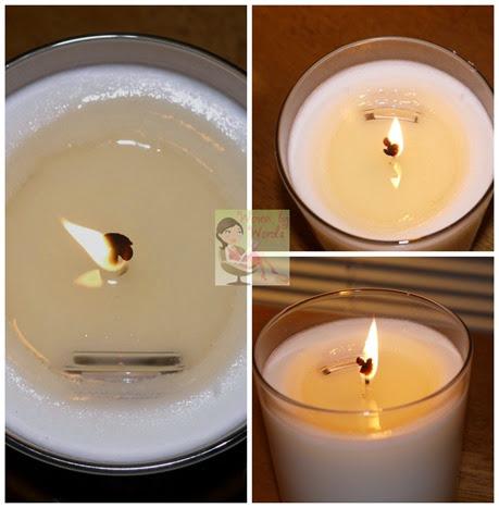 Burning Prize Candle