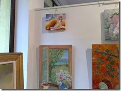 Tablouri expuse la salonul de toamna al asociatiei  artistilor plastici - 2011