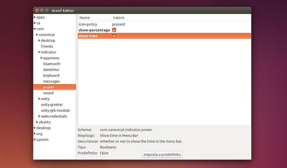 Ubuntu - Dconf Editor