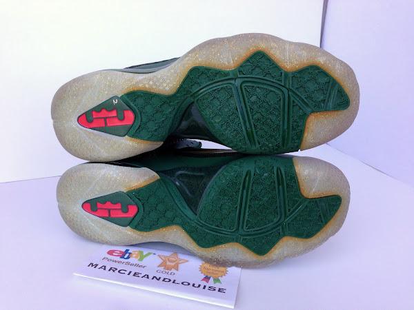 Nike LeBron 9 Alternate Green Christmas Promo Sample