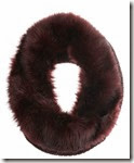 Mint Velvet Merlot Faux Fur Snood
