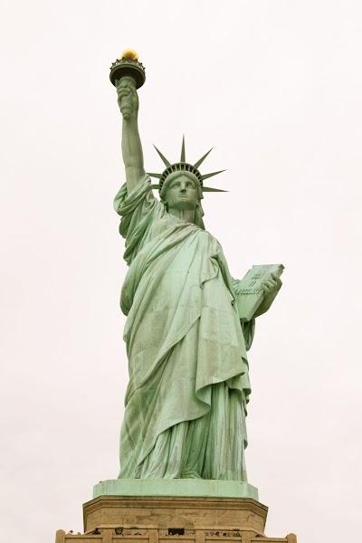 Die Statue of Liberty - kostenfreier Blick so oft Sie wollen