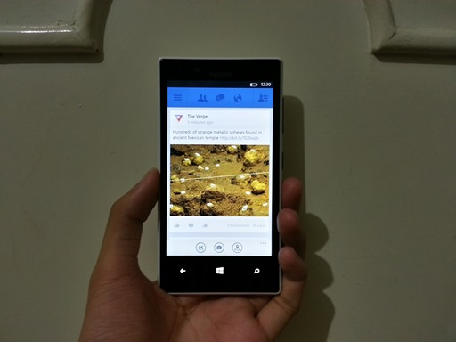 Facebook 5.0 for Windows Phone