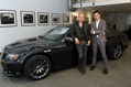 Designer John Varvatos and Chrysler Brand President and CEO Saad Chehab introduce the 2013 Chrysler 300C John Varvatos Limited and Luxury Edition Vehicles
