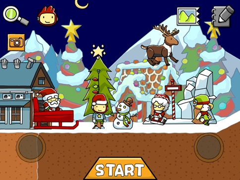 scribblenauts remix christmas