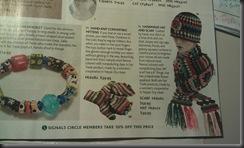 signal magazine crochet hat n scarf