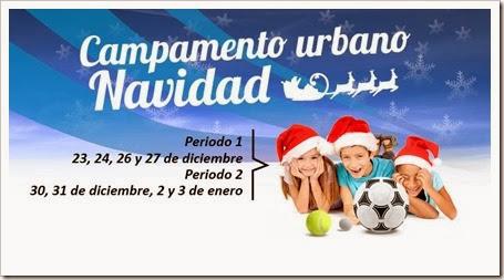Campamento Urbano Navidad 2013-14 en GolfCanal: Golf, Pádel, Fútbol y... mucho más.