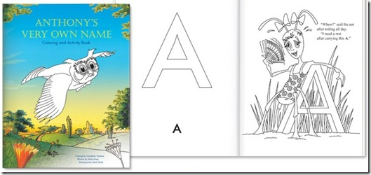 My Very Own Name Coloring Book