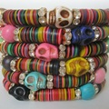 Upcycled African Friendship Bracelets