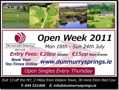 Dunmurry Open Week 2011