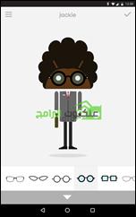 Androidify تطبيق عمل شخصيات كارتونية أندرويد Avatars - 3