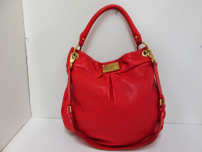 Marc By Marc Jacobs Red Leather Handbag