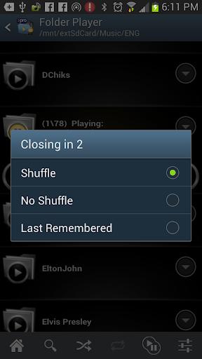 Folder Player Pro - screenshot