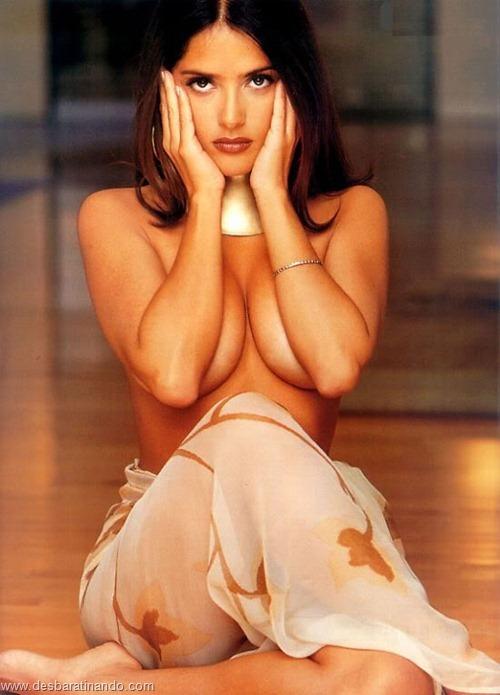 salma hayek linda sensual sexy sedutora gostosa peituda boob tits desbaratinando  (53)