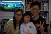 Crystal, Rebecca and John