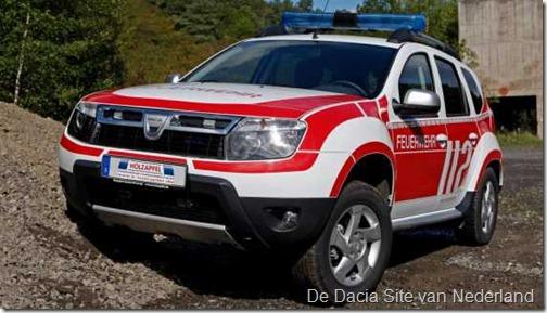 Dacia Duster als brandweer 06