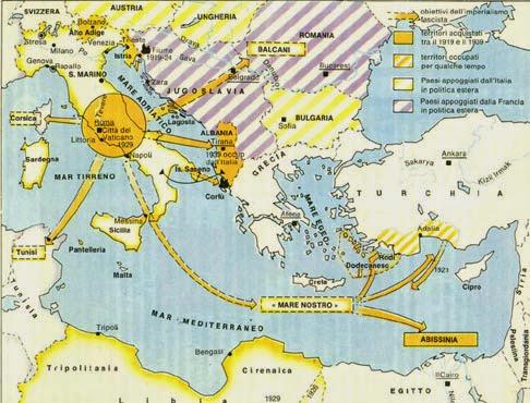 L'imperialismo fascista, 1922-1939, da Atlante Storico Garzanti