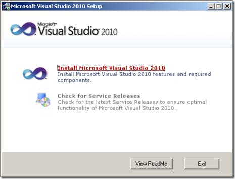 Cara Aktivasi Visual Studio 2010