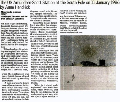 Anne Hendrick - US Amundsen-Scott Station