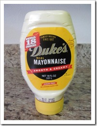 Florida vacation Dukes mayonaise from Publix